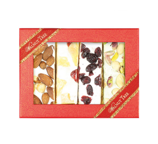 The Walnut Tree Assorted Nougat Bars Gift Box