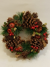 Woodlands Fruits Christmas Wreath