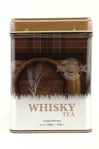 Edinburgh Tea & Coffee Company Whisky Loose Leaf Tea Caddy