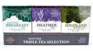 Edinburgh Tea & Coffee Company Scottish Triple Tea Selection