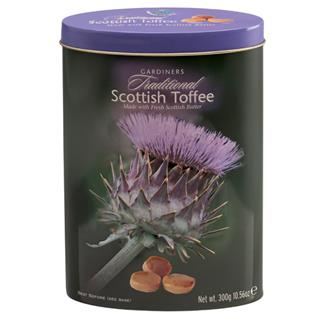 Gardiner's Scottish Toffees Thistle Tin