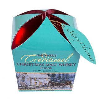 Gardiner's Christmas Malt Whisky Fudge Box