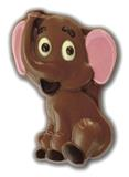 Chocolate Eddie the Elephant