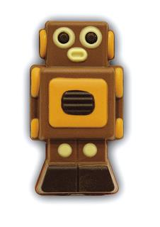 Chocolate Robbie the Robot