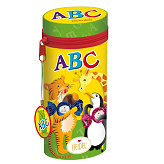 ABC Pencil case with chocolate bars