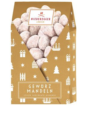 Niederegger Christmas Spiced Almonds