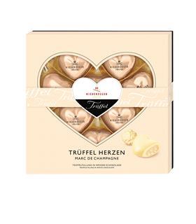 Niederegger Marc de Champagne Truffle Hearts
