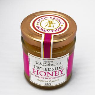 W.S. Robson's Tweedside Honey with Heather Honey 227g