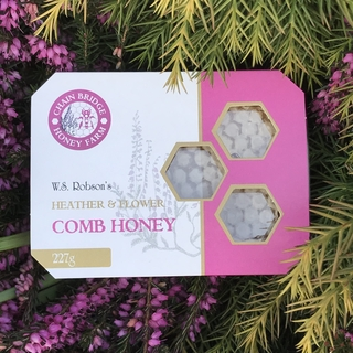 W.S. Robson's Heather Flower Comb Honey