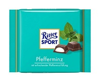 Ritter Sport with Peppermint Filling