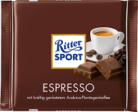 Ritter Sport with Espresso Filling
