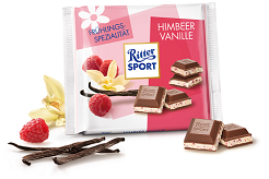 Ritter Sport Raspberry and Vanilla