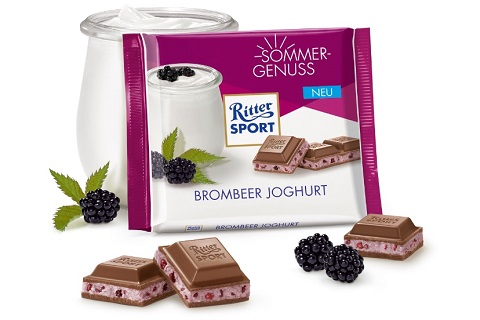 Ritter Sport Blackberry Yogurt