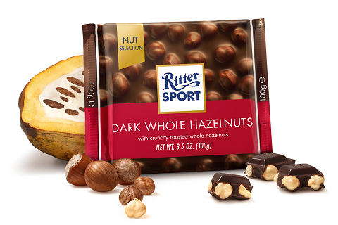 Ritter Sport Dark Whole Hazelnut