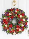 Deluxe Christmas Door Wreath