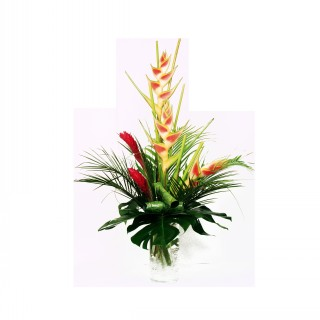 Exotic Ecuadorian Vase Arrangement