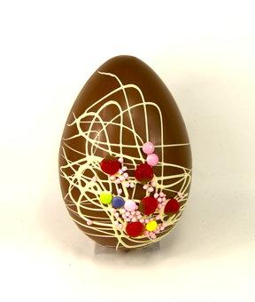 Milk Chocolate Big Sweetie Egg