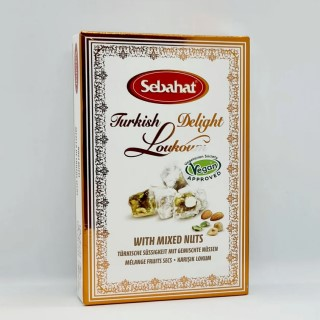 Sebahat Mixed Nut Turkish Delight