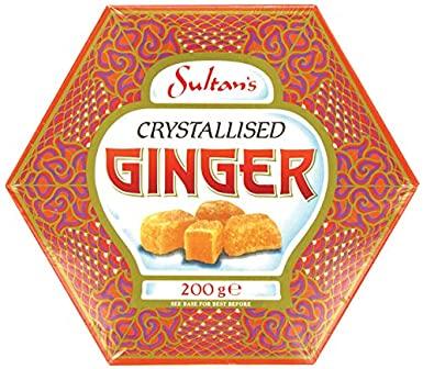 Sultan's Crystallised Ginger