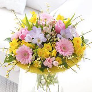 Bouquet of Scented Spring Blooms