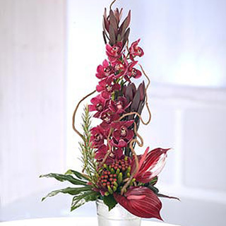 Tropical Orchid Fantasy Arrangement