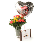 Valentine Tulip Bouquet Gift Collection