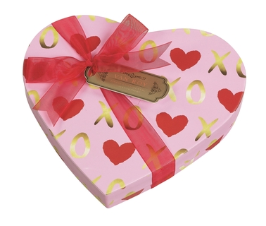 Van Roy Belgian Chocolates & Truffles Heart Box