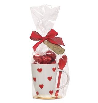 Van Roy Belgian Chocolate Hearts In a Mug
