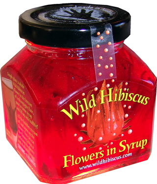 Wild Hibiscus Flowers In Syrup