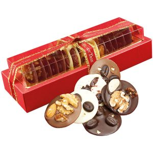 Walnut Tree Chocolate Mendiants With Fruit, Nuts & Coffee Beans