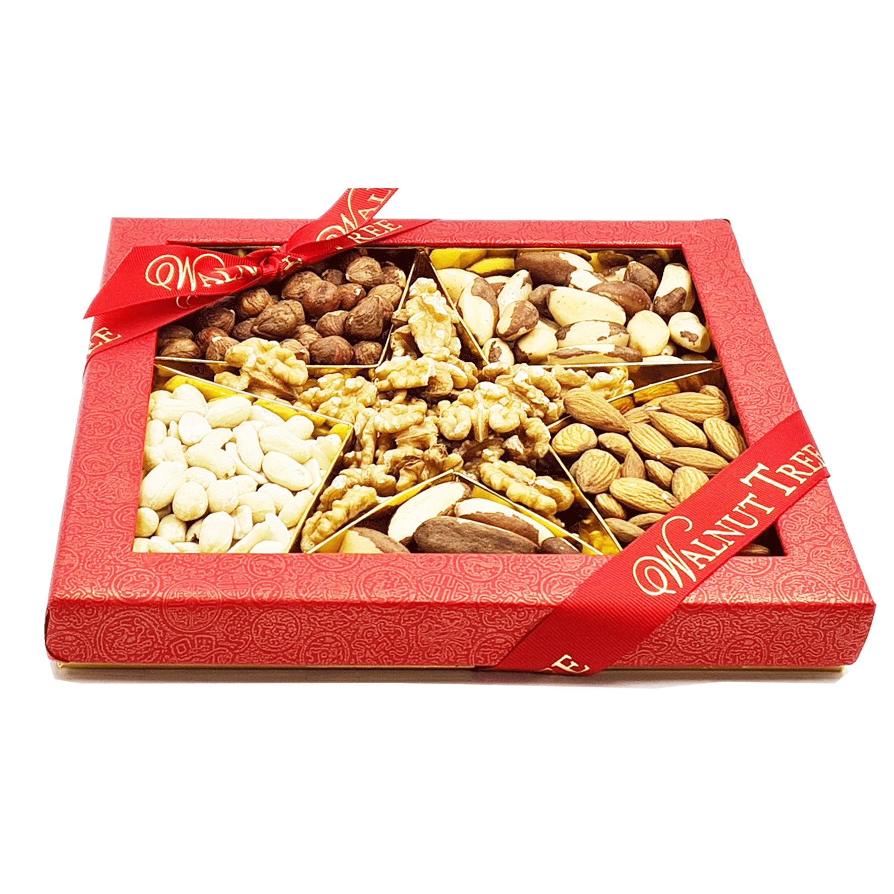 Walnut Tree Star Nut Selection Box