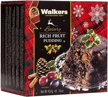 Walker's Rich Fruit Christmas Pudding