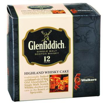 Walkers Glenfiddich Highland Whisky Cake