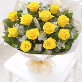 Golden Times Rose  Bouquet
