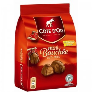 Cote d'Or Mini Milk Bouchee in Pouch