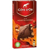 Cote D'Or Dark Chocolate Bar with Hazelnuts