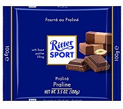Ritter Sport with Praline Filling